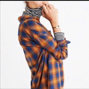 Madewell Ardan Flannel Shirt